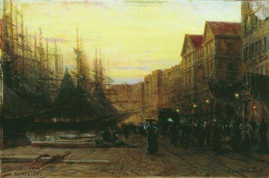 Марсельский порт