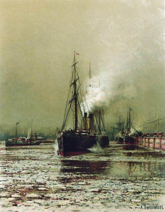 Морской канал в Петербурге
