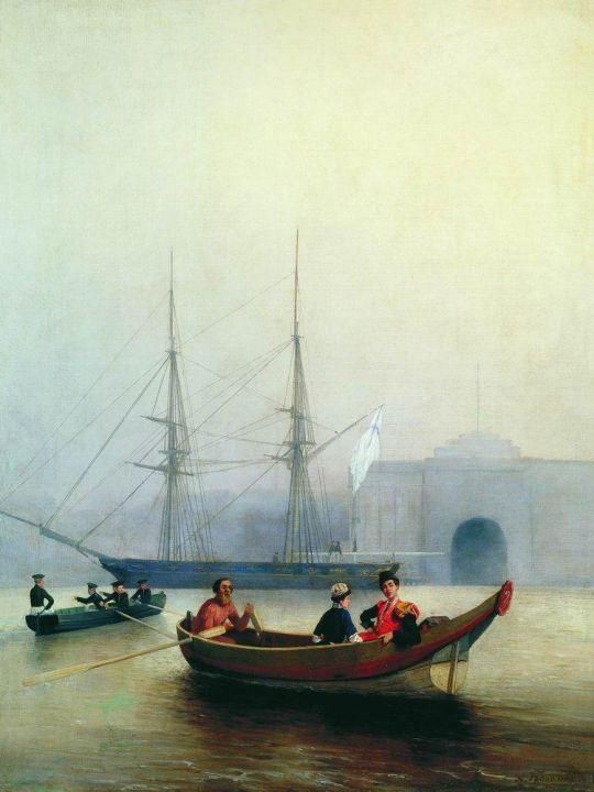 На Неве у Адмиралтейства
