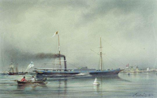 Пароход Невка 1838 года
