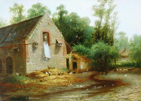 Пейзаж в Нормандии