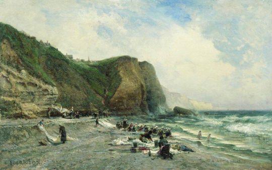 Прачки на берегу