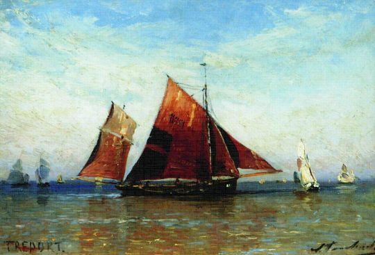 Рыбаки перед Трепором