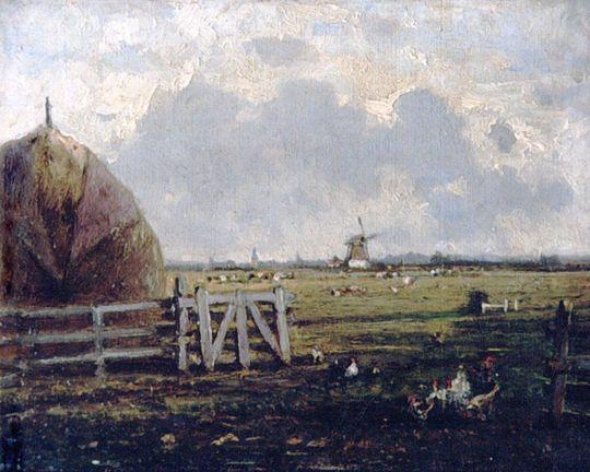 Сельский вид около Гааги