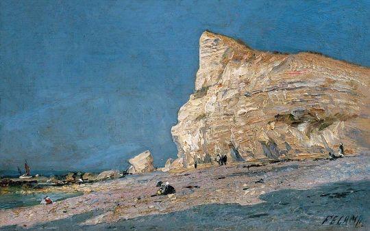Скалы в Фекане