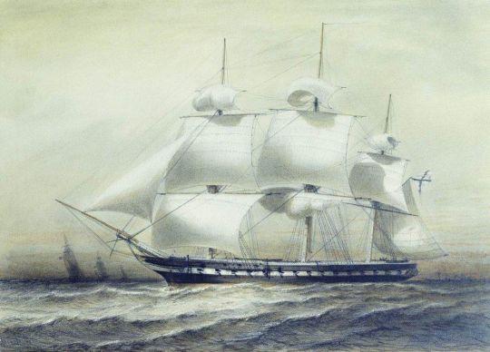 Фрегат Паллада 1847 года
