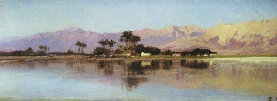 Нил у Фиванского хребта
