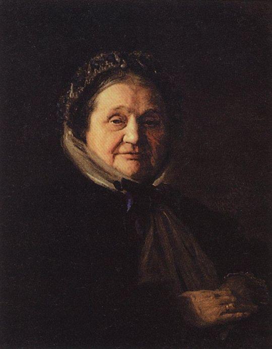 Портет В.Н.Воейковой, бабушки художника