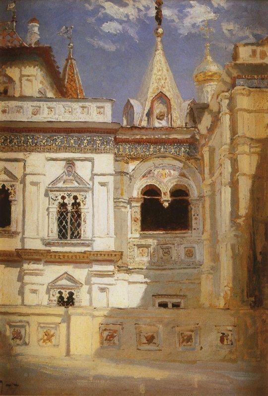 Теремной дворец. Наружный вид
