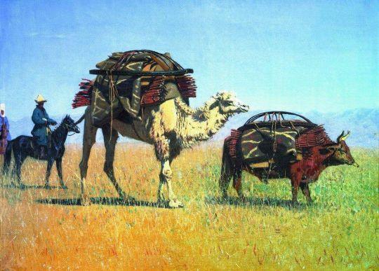 Перекочевка киргизов