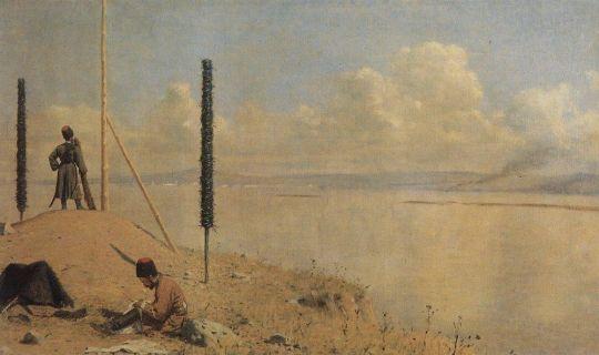 Пикет на Дунае