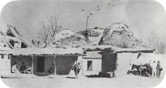 Постоялый двор близ Ташкента