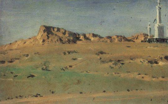 Угол турецкого редута, взятого М.Д.Скобелевым 30 августа, но снова покинутого 31-го