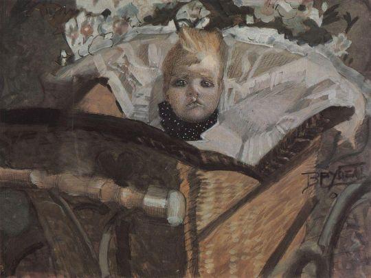 Портрет сына художника