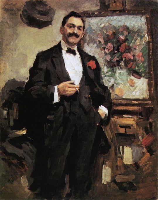 Портрет венгерского художника Йожефа Рипль-Ронаи
