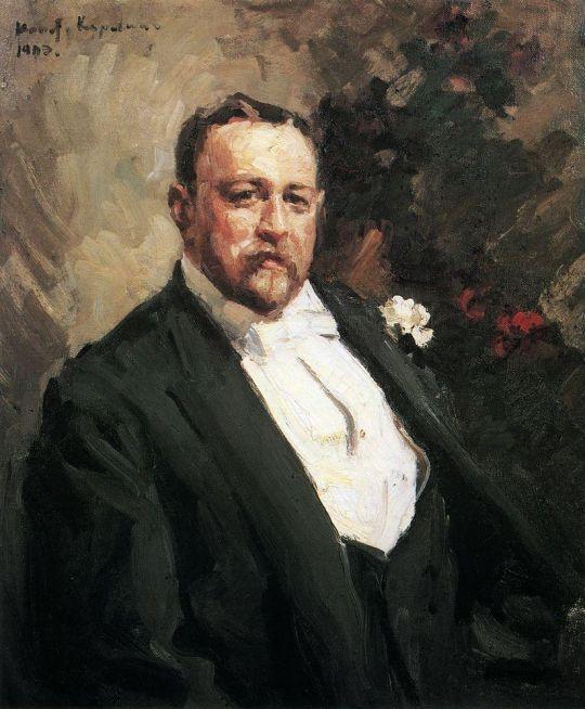 Портрет И.А.Морозова