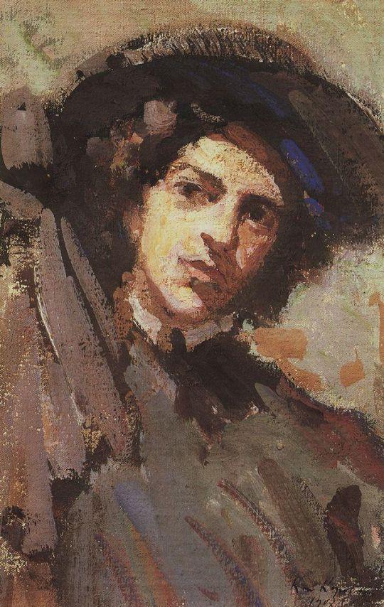 Портрет Н.И.Комаровской