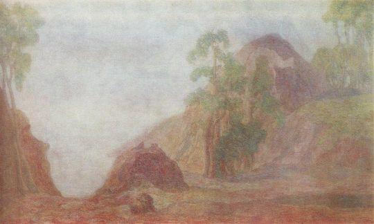 Сосны и скалы