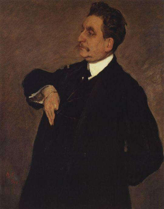 Портрет В.О.Гиршмана.