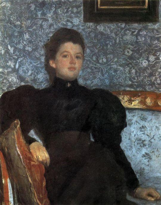 Портрет гр. В.В.Мусиной-Пушкиной.