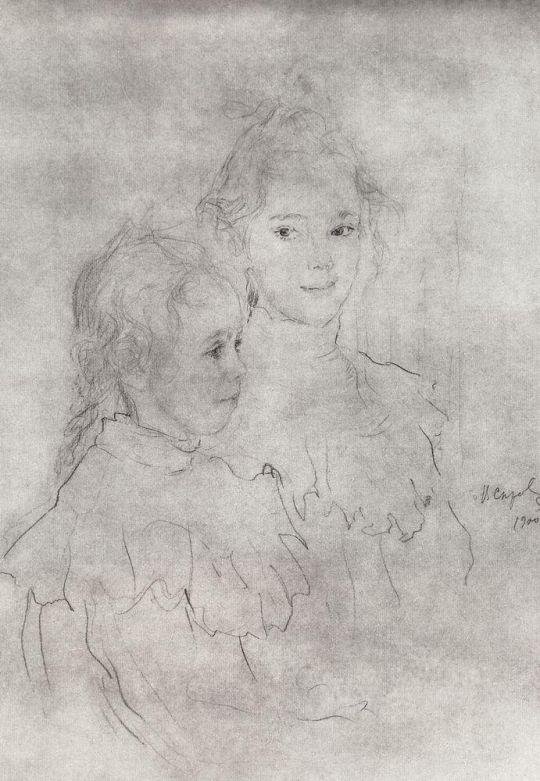 Портрет дочерей С.С.Боткина.