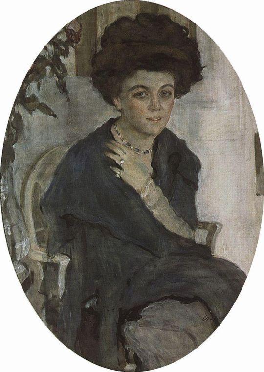 Портрет Е.П.Олив.