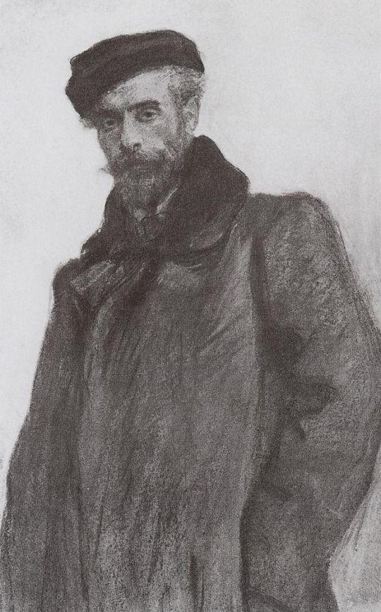 Портрет И.И.Левитана.