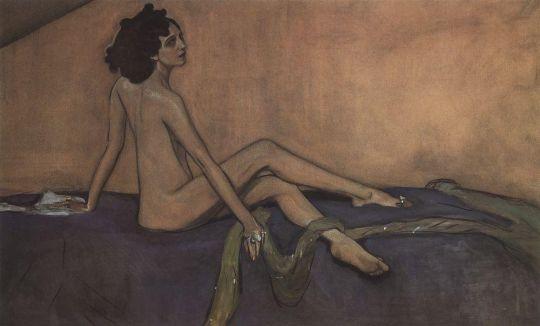 Портрет Иды Рубинштейн.