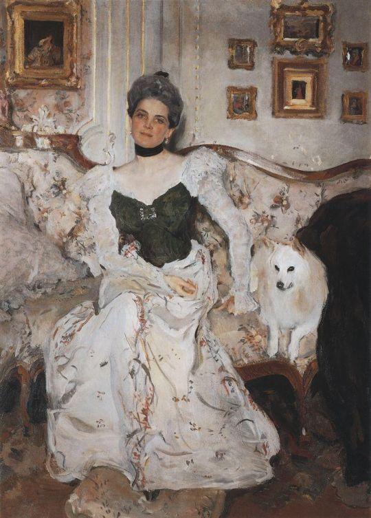 Портрет княгини З.Н.Юсуповой.