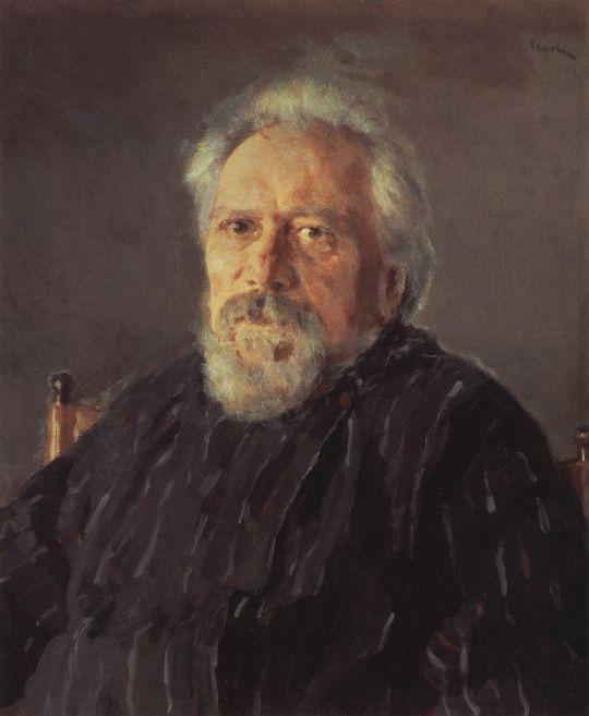 Портрет писателя Н.С.Лескова.
