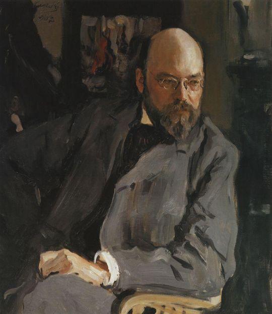 Портрет художника И.С.Остроухова.