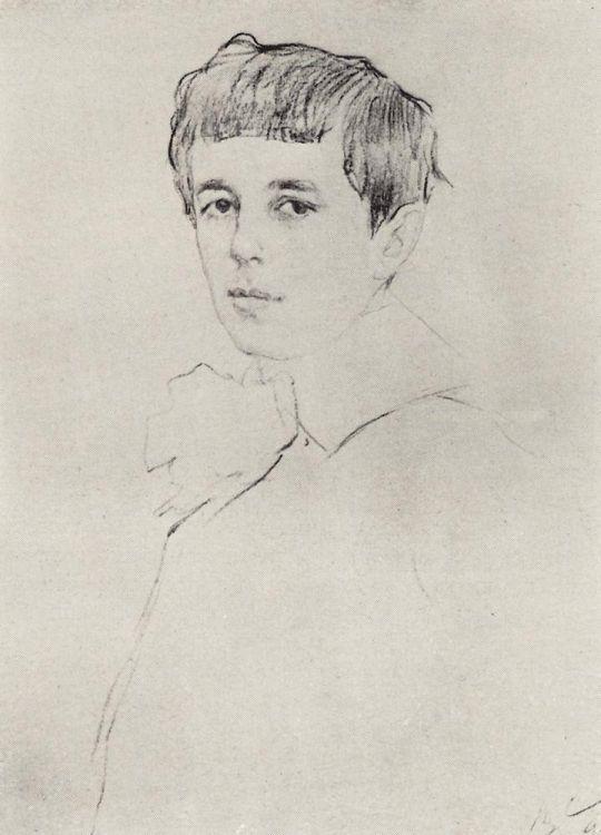 Портрет Юры Морозова.