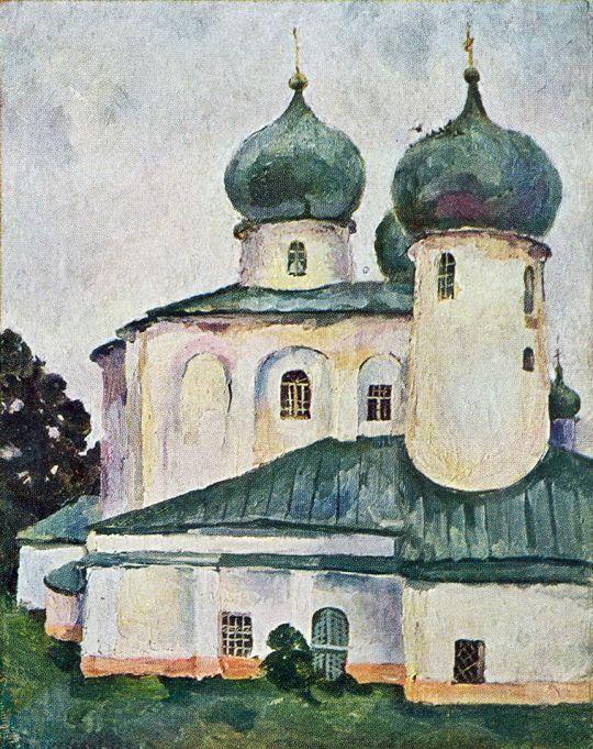 Новгород. Антоний Римлянин.