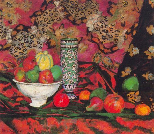 1908 Натюрморт с фруктами. Coll. Shuster