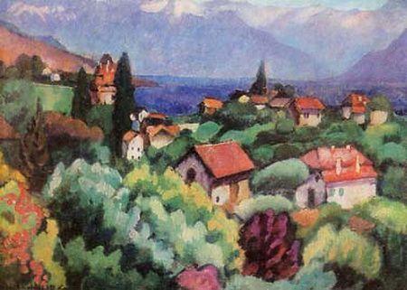 1914 Пейзаж.