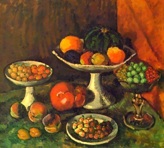 1916 Фрукты и ягоды. Х., м. ГРМ