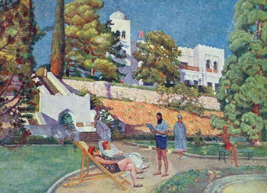 1920-е Дюльбер. Санаторий 'Красные зори'.
