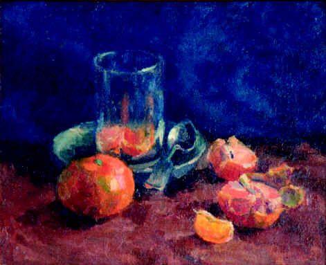 1930-е Мандарины и стакан. Волгоград