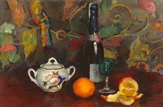 1939 Натюрморт с апельсинами. Минск