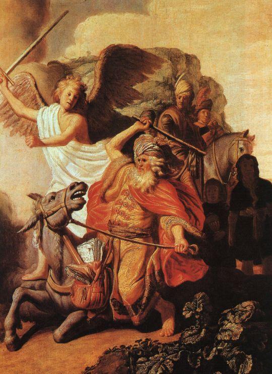 Пророк Валаам и ослица