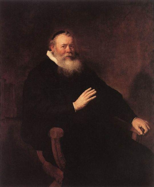 Портрет пастора Элеазера Свальмиуса