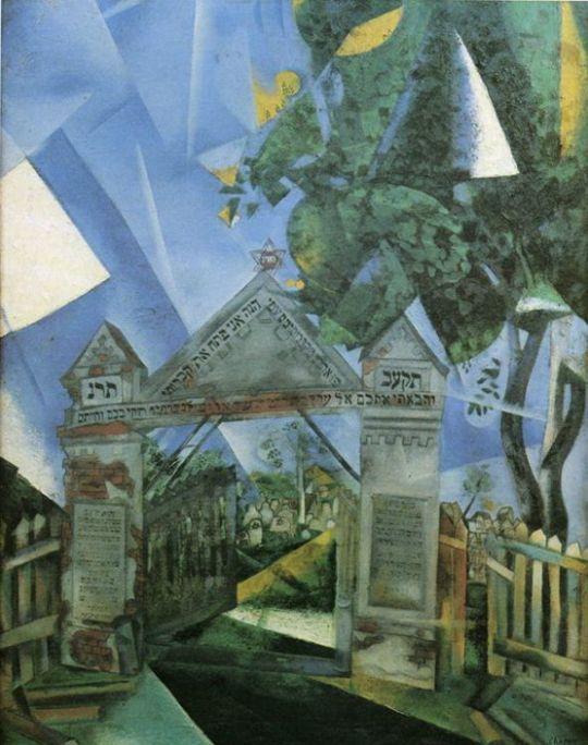 Ворота еврейского кладбища
