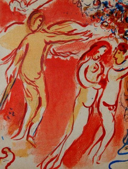Адам и Ева, изгнание из Рая