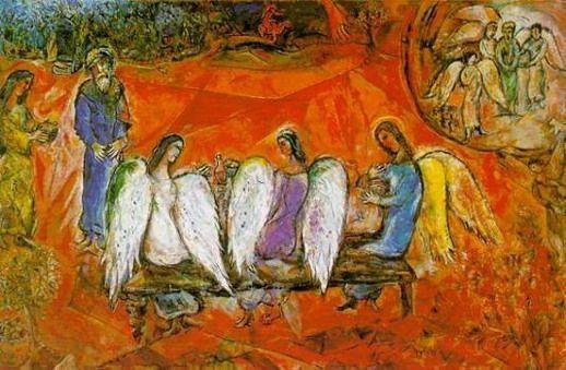 Адам и три Ангела
