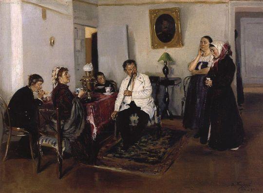 Наем прислуги. 1891