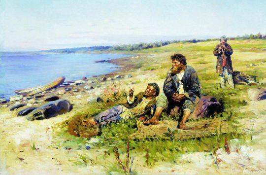 На Волге. 1897