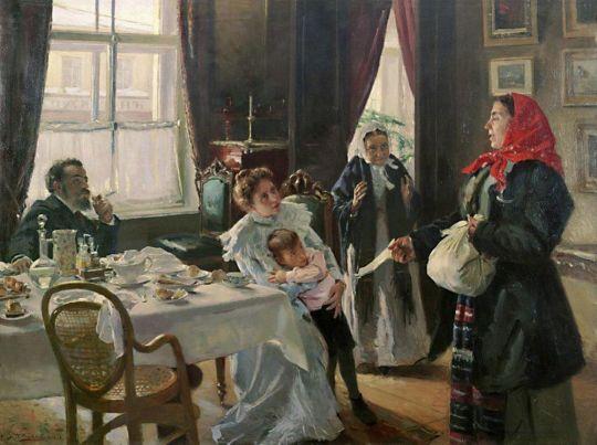 Две матери. Мать приемная и родная. 1905-1906