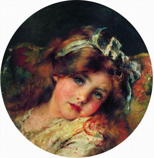 Детская головка. 1890-е