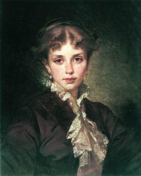 Женский портрет. 1878