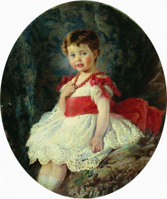 Портрет девочки. 1877